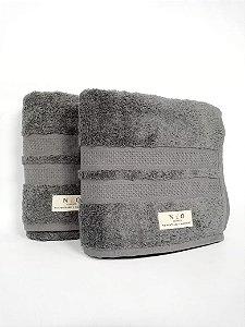 Toalha de banho Neo Clássico  cinza - Camesa