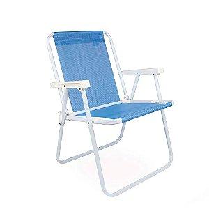Cadeira Alta Azul Mor