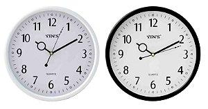 Relógio de Parede Redondo Sortido - Imporiente