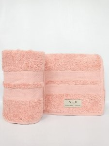 Toalha de rosto Neo Clássico rose - Camesa