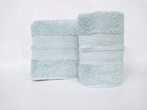 Toalha de rosto Neo Clássico azul piscina - Camesa