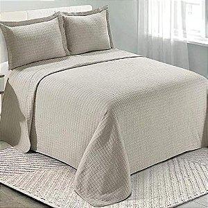 Colcha de cama casal Loft concreto - Camesa