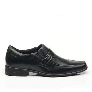 Sapato Social Masculino Em Couro Preto - Pegada
