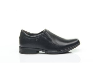 Sapato Masculino Em Couro Preto 322314 - Pegada