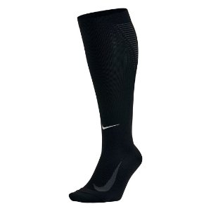 Meia De Compressão Nike Elite Running Lightweight 2.0 Dri-Fit - Preto