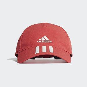 Boné Adidas Baseball Aeroady 4Athlts - Vermelho
