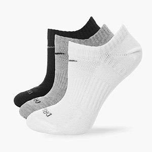 Meia Nike Dri-Fit Cotton Lightweignt 3 Pares