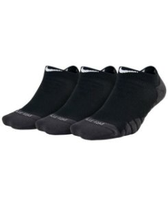 Kit de Meias NIke 3 Pares Everyday Max - Preto