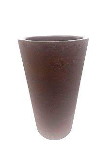 Vaso De Planta Red Cone P 76mr - Mara Vasos
