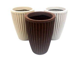 Vaso De Planta Rotom Rom P 40 - Mara Vasos