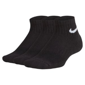 Meia Nike Infantil Performance 3 Pares - Pretas
