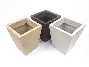 Vaso De Planta Quad P 79 - Mara Vasos