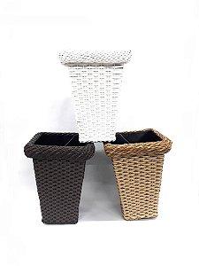 Vaso De Plastico e Fibra Sintética Torre Quad P 7151 - Mara Vasos