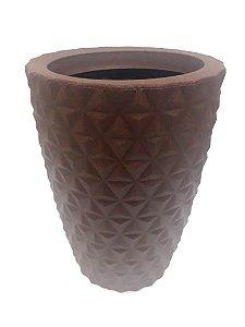 Vaso De Planta Red Cone Pp 3d 50amr - Mara Vasos