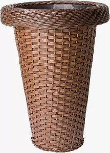 Vaso De Plastico e Fibra Sintética Torre Red L 6051 - Mara Vasos