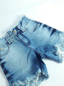Bermuda Feminina 10054 - Tripé Jeans