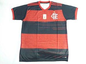 Camisa do Flamengo Masculina Preto e Vermelho - Ginga