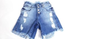 Bermuda Feminina 10096 - Tripé Jeans