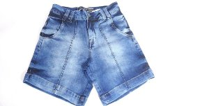 Bermuda Feminina 10080 - Tripé Jeans