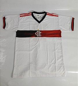 Camisa do Flamengo Infantil Branca - Ginga