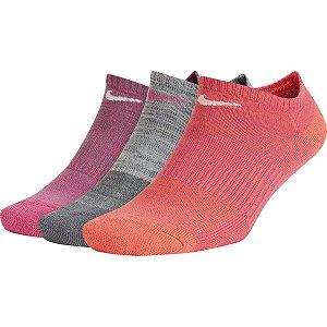 Meia Soquete Nike Everyday Cushion 3 Pares - Misto