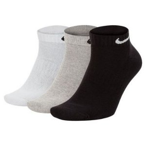 Meia Nike Everyday Cushion Quarter 3 Pares - Misto