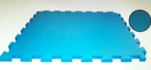 Tatame Tapete Eva 1x1x10mm Azul Claro