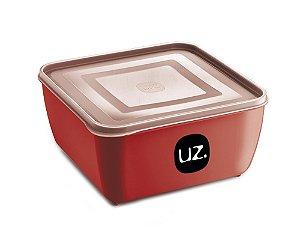 Multiuso Quadrado Uz 0,5l Premium Vermelho Uz297vm