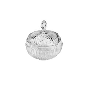 Potiche De Cristal Elizabeth 15 cm x 17,5 cm - Coliseu