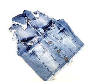 Colete Feminino 10052 - Tripé Jeans