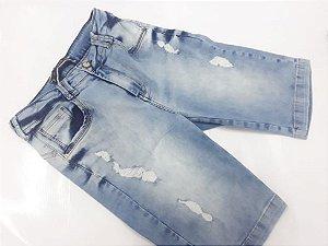 Ciclista Feminino 10040 - Tripé Jeans