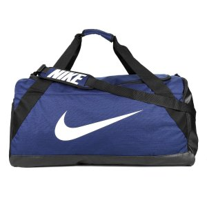Mala Nike Brasilia XL Duff 101 Litros - Azul e Preto