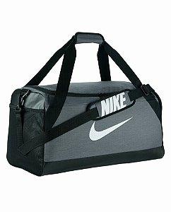 Bolsa Nike Brasilia Duffel 61 Litros - Cinza