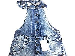 Jardineira Feminina 10083 - Tripé Jeans