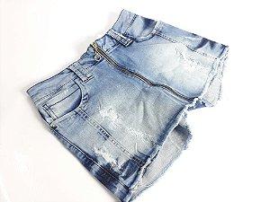Short Saia Feminina 10093 - Tripé Jeans