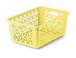 Cesto Organizador M - Amarelo - Uz