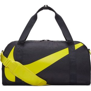 Bolsa Nike Gym Club 25 Litros - Preto/ Amarelo