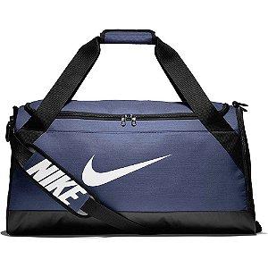 Bolsa Nike Brasilia Duffel 61 Litros - Azul