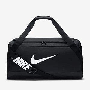 Bolsa Nike Brasilia Duffel 61 Litros - Preto