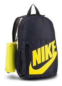 Mochila Nike Elemental - Preto e Amarelo