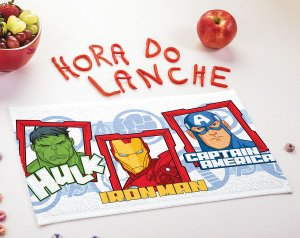 Toalha  de Lancheira Lepper - Avengers