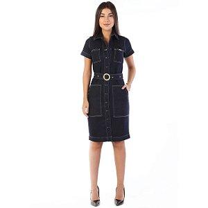 Vestido Sawary Jeans feminino - 263154