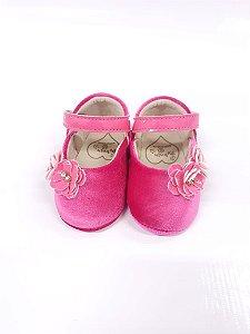 Sapatinho Feminino Baby Camurça - Peknin