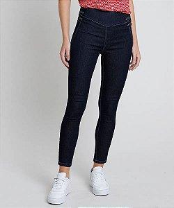 Calça Jeans Feminina Sawary Skinny Cintura Alta