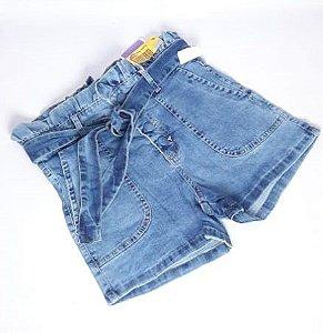 Short Jeans C Amarração Feminino Sawary 263608