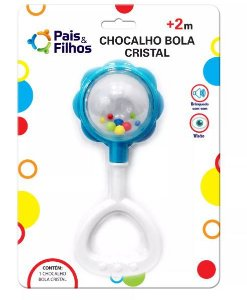 Chocalho Bola Cristal - Pais E Filhos