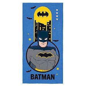 Toalha Aveludada Estampada Lepper - Batman
