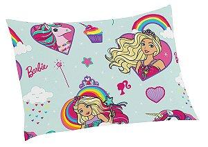 Fronha Infantil Microfibra Lepper -  Barbie Reinos Mágicos