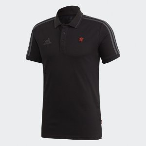 Camisa Polo 3-Stripes CR Flamengo - Adidas