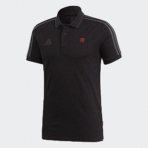 PRÉ-VENDA Camisa Polo 3-Stripes CR Flamengo - Adidas